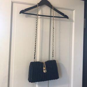 Vintage wicker purse